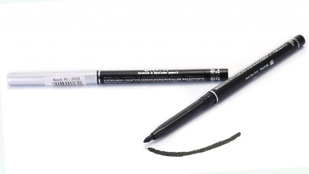 Twistup Eyebrow & Eyeliner Pencil - Black #012