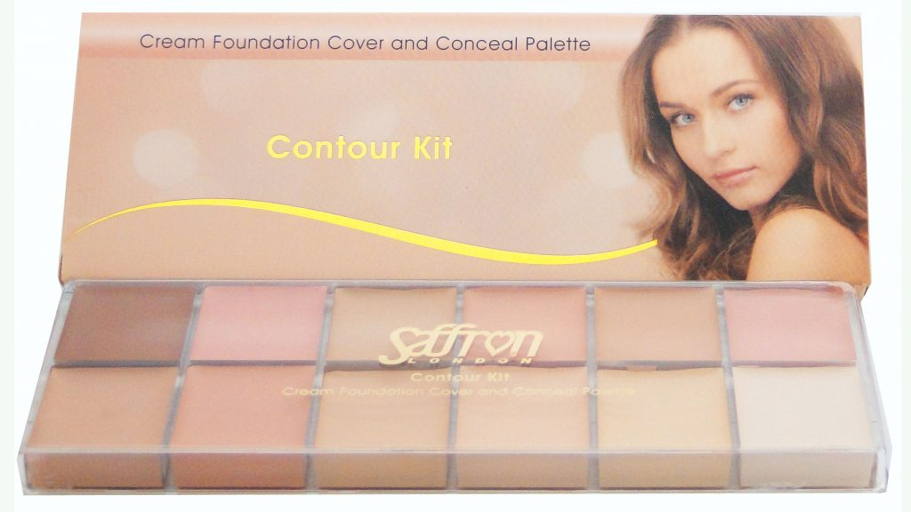 Cream Foundation Cover & Concealer Palette #187