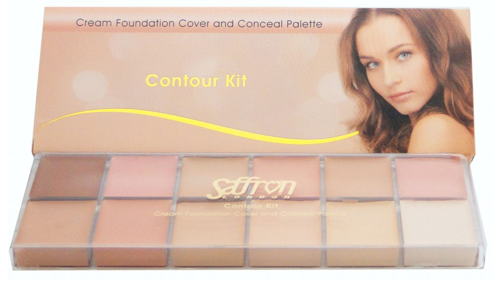 Cream Foundation Contour Kit #187