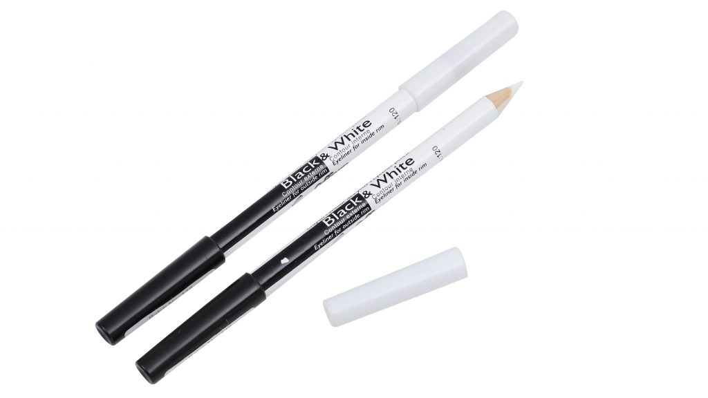 Black & White Eyeliner Pencil #120