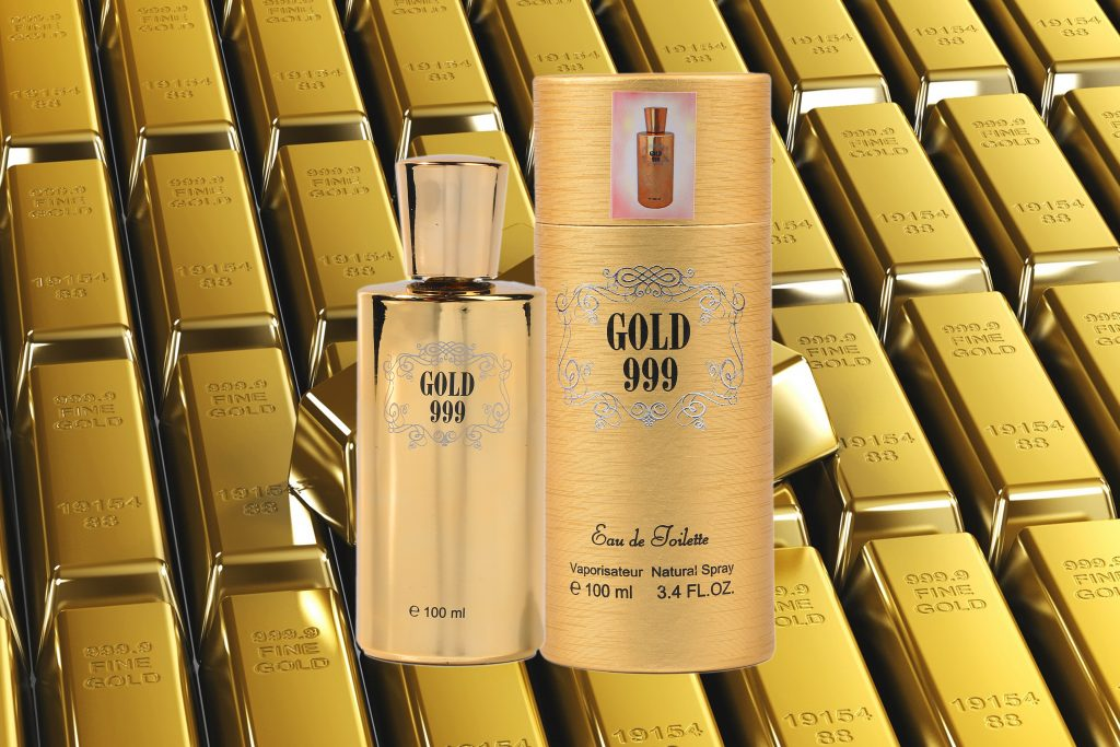 Gold 999 Eau de Toilette 100ml