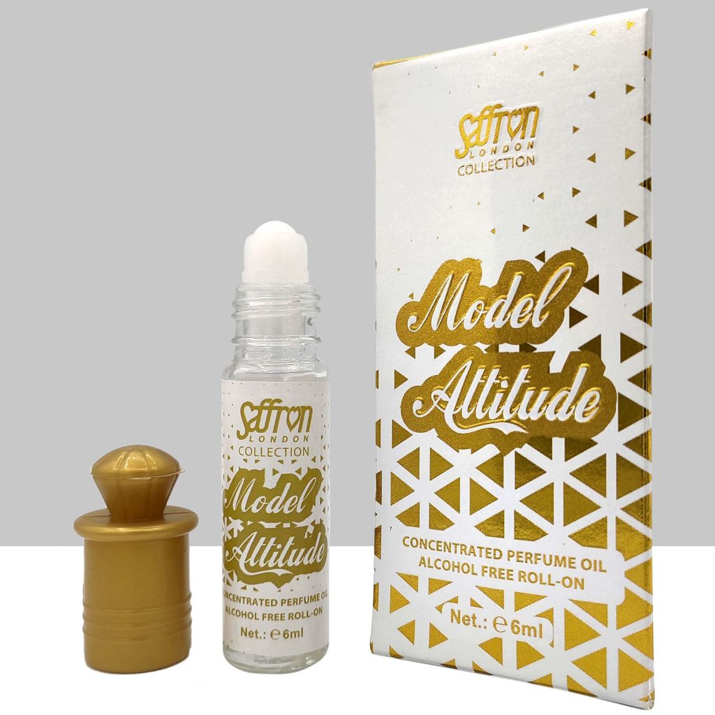Model Attitude Rloon Perfume Oil 6ml