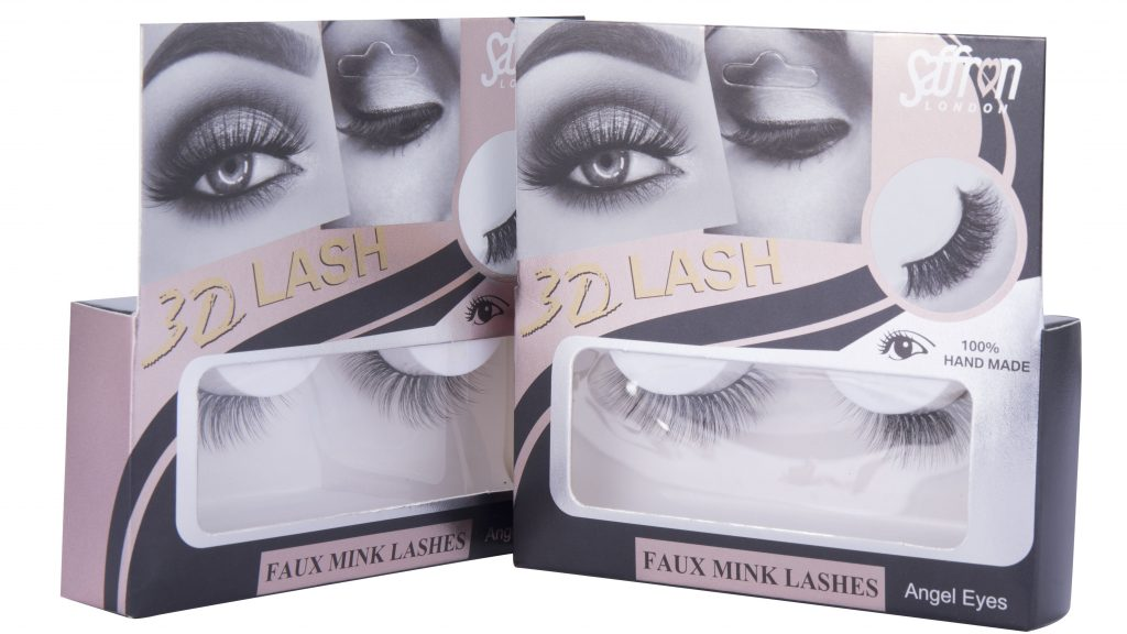 3D Faux Mink Eye Lashes - Angel Eyes