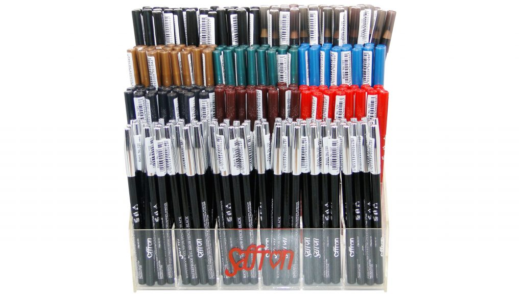 Counter Display Stand with 360 Assorted Pencils